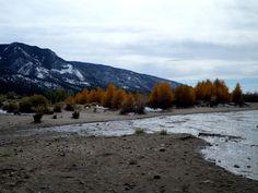 Medina Creek flowing Sand Dune National Park Fall 2013