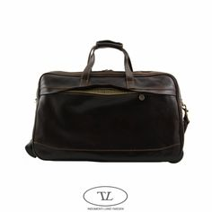 leather carry on bags for men | ... bag in dark brown leather also acts as an ideal carry on bag for men
