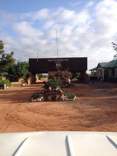 Tsavo East National Park - Bachuma Gate (Kenya Wildlife Service - KWS) paikassa Buchuma, Kenya