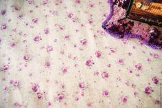 """Купить Скатерть """"Сиреневая нежность"""" из ламинированного льна - комбинированный, ламинированная ткань, скатерть на стол, скатерть"""