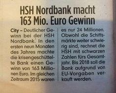 HSH Nordbank: bis zu 30 Milliarden Euro Schaden für den Steuerzahler