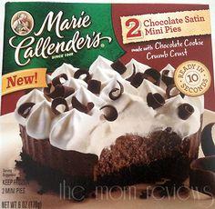 National Pie Day (1/23) with Marie Callender's Mini Pies! {+ $25 Visa GC Giveaway} #MarieCallenders