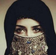 ❤ Modest Fashion, Hijab Fashion, Arab Swag, Face Jewellery, Jewelry, Hidden Beauty, For Your Eyes Only, Niqab, Traditional Dresses