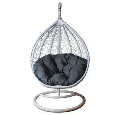 Cute Bedroom Decor, Cute Bedroom Ideas, Room Ideas Bedroom, Bed Room, Bedroom Swing, Dream Bedroom, Hanging Swing Chair, Swinging Chair, Swing Chairs