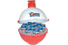 To take our drinks to the pool or beach....it floats!! I believe that Amazon carries these,but I know you can find them at most pool stores! :)