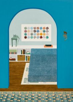 Image result for Becky Suss, Blue apartment
