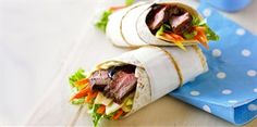 Cajun Chargrilled Beef Wraps