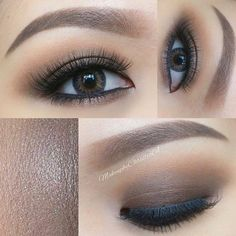Smokey Eye Makeup for Monolid Eyes picture1