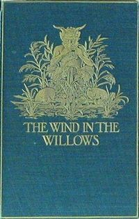 "The Wind in the Willows - Kenneth Grahame. These were the first stories I fell in love with that involved animals with clothes and houses. Then I moved to the ""Redwall"" series... I love stories like that!"