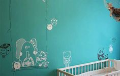 Doudou wall sticker designed by Assia Bennani www.buymedesign.com #wallstickers #stickers #kids