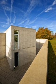 Vitra Conference Pavilion, Weil am Rhein, Germany by Tadao Ando Architect