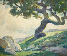 Paul Lauritz - The old oak (The lone sentinel)