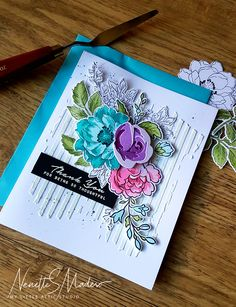 Attic News – My Little Attic Watercolor Birthday Cards, Watercolor Cards, Altenew Cards, Handmade Card Making, Cards For Friends, Pretty Cards, Card Sketches, Paper Cards, Flower Cards