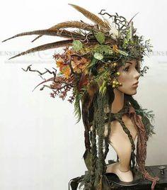 The Princess and the Unicorn Story Maquillage Halloween, Halloween Makeup, Halloween 2018, Halloween Costumes, Halloween Unicorn, Unicorn Costume, Woodland Fairy, Headgear, Headdress