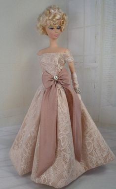 Save Me Вальс для SILKSTONE Барби OOAK Doll Fashion
