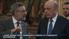 Portal Galdinosaqua: José Serra pede demissão e deixa o governo Temer