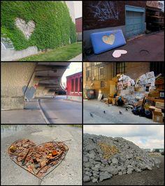Roadsworth - dead hearts