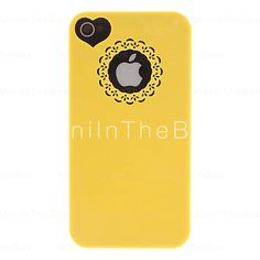 cover iphone gialla