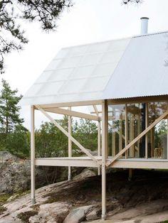Maison de vacances en Suède par Arrhov Frick Arkitektkontor - Journal du Design