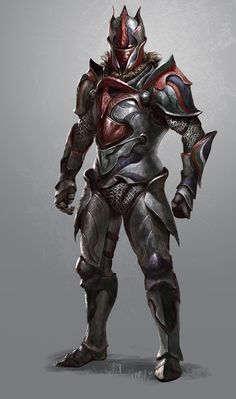 ArtStation - Warrior Armor Design 1, Boris Nikolic