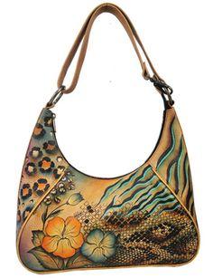 Anuschka handbags. It's like purchasing artwork. I could definitely enjoy shopping for these.