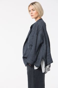 Linen/Silk stunner at OSKA New York