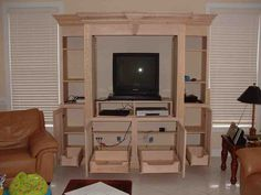 Cabinets for Entertainment Center