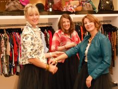 Our stylists Karen, Kate & Karrie at the Westfield Style Tour!