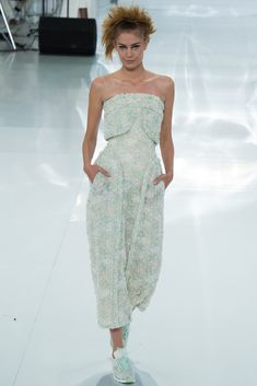 Chanel Spring 2014 Couture Fashion Show - Nadja Bender (OUI)