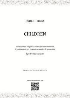 Children By Robert Miles Robert Miles, Writing About Yourself, Original Music, Digital Sheet Music, Music Files, Self Publishing, Make A Wish, Teaching Tools, My Music