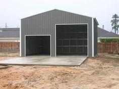 Diy garage kits metal garage kits do it yourself construction 30 x 40 metal building for solutioingenieria Images