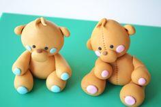 Gumpaste teddy bear 초보자도 쉽게 만드는 곰돌이~ :: 네이버 블로그