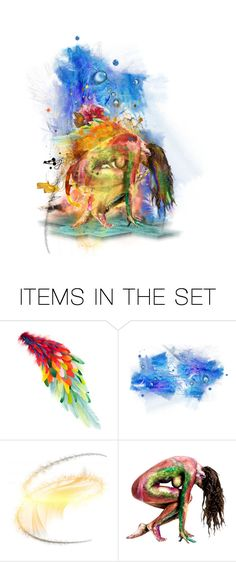 """""""Colors of Friendship"""" by queenofmischief ❤ liked on Polyvore featuring art"""
