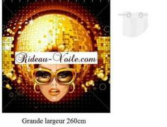 Rideau-voile.com #rideau#surmesure#personnalisé#tissu#double#décoration#fashion#disco#funky#paillette#glitter#maison#jeune#ado#fuggony#tenda#verhot#stoff#fabrics#curtain#
