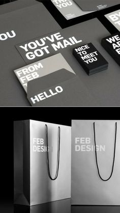 FEB Design Stationeryby Antonio Carusone