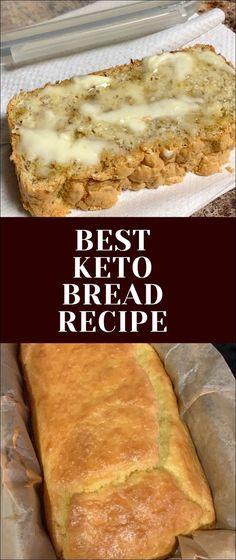 Bulletproof Bread Recipe For Keto Low Carb Bread No Bread Diet, Best Keto Bread, Low Carb Bread, Easy Keto Bread Recipe, Sandwich Bread Recipes, Ketogenic Recipes, Low Carb Recipes, Diet Recipes, Healthy Recipes