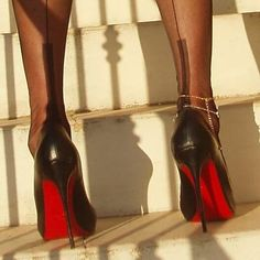 Shoe worship #stilettoheel #stilettos #stockings #fullyfashionedstockings #ffnylons #ffstockings #loubies #louboutin #christianlouboutin #loubs #louboutinlover #louboutins #blackstockings #blacknylons #hosiery #legsfetish #legsworship #heelsworship #fetish #instashoes #instalouboutin #instanylons #instaheels #redsoles #seamedstockings #seams #shoepost #shoeporn #shoefetish