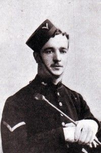 Corporal Nurse of the Royal Field Artillery, awarded the Victoria Cross for his conduct in attempting to rescue the guns during the Battle of Colenso on 15th December 1899 during the Boer War