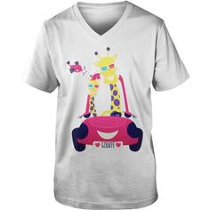 Giraffes Having Fun In The Car TShirt