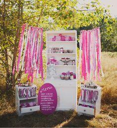 Candy bars y mesas de dulces