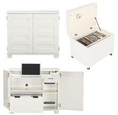 10 White & Wonderful Filing Cabinets