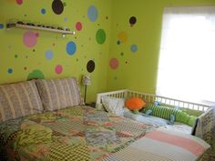 if i cld have room like this minus the greem paint