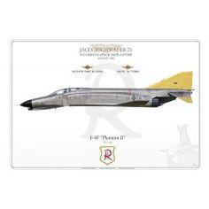 """Phantom II"" ""R"" - Aviationgraphic Luftwaffe, Air Force, Galaxy Photos, F4 Phantom, Fighter Jets, Aviation, Aircraft, German, Military"
