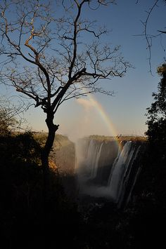 Victoria Falls...the location of Devil's pool.
