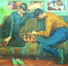 "Vyacheslav Shepelev 1958 ""Game Of Chess"""