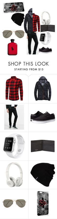 """Justin Bieber"" by peyton-123 ❤ liked on Polyvore featuring Express, Lakai, Yves Saint Laurent, Beats by Dr. Dre, Hurley, SELECTED, Ralph Lauren, men's fashion and menswear"