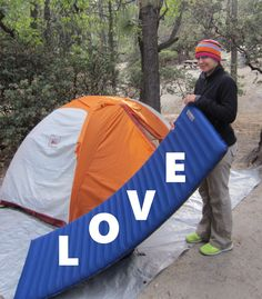 After our long 4 month road trip, I feel qualified to assess a few love its or leave its that I would've loved to know ahead of time!  Sleeping Pad are a HUGE LOVE for car camping.