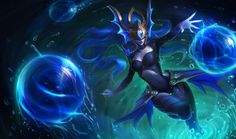 Atlantean Syndra is now available on #LeagueofLegends - Take a look on her ingame view and abilities - http://youtu.be/6lZrTxdOzcE