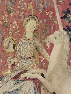 La dame la licorne mus e de cluny tapisserie - La tapisserie de la dame a la licorne ...