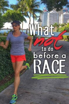 Fitness and Workout Tips 2017 : Stop making these common running mistakes what not to do before a race and on Marathon Tips, Half Marathon Training, Marathon Running, Kauai Marathon, Disney Marathon, Running Race, Running Workouts, Running Tips, Disney Running
